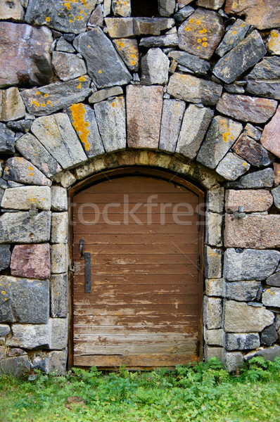 Fortress Door Stock photo © yhelfman