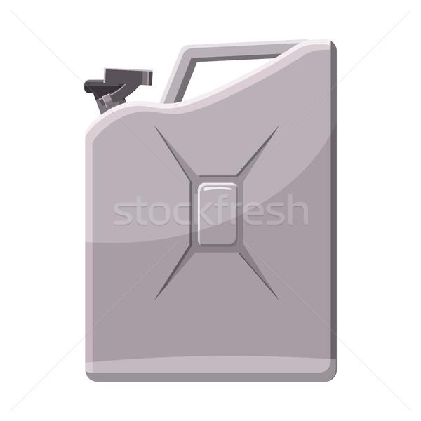 Ikon rajz stílus fehér autó fém Stock fotó © ylivdesign