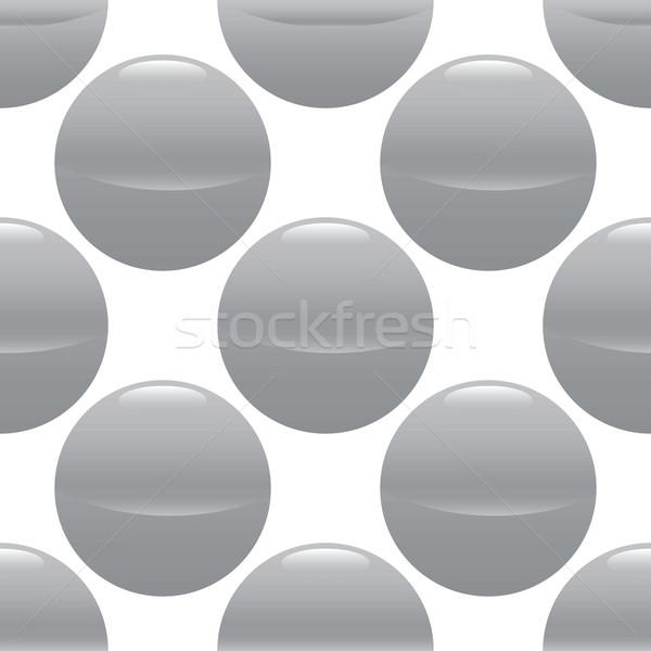 Grey ball pattern Stock photo © ylivdesign