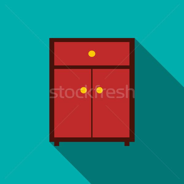 アイコン スタイル 長い 影 ホーム ストックフォト © ylivdesign