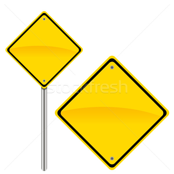 Road sign Stock photo © ylivdesign