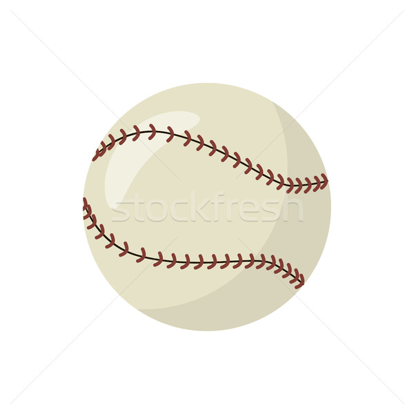 Baseball icon, cartoon style Stock photo © ylivdesign