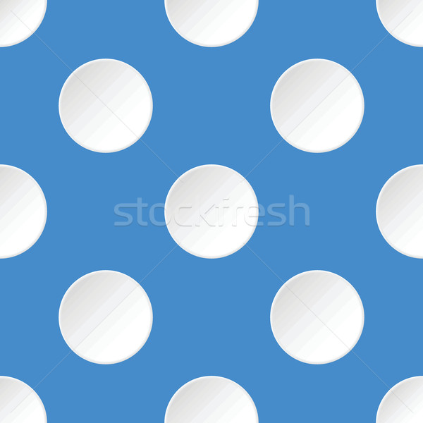White circles pattern Stock photo © ylivdesign