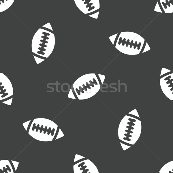 Rugby ball pattern Stock photo © ylivdesign