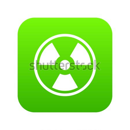 Nuclear icon Stock photo © ylivdesign