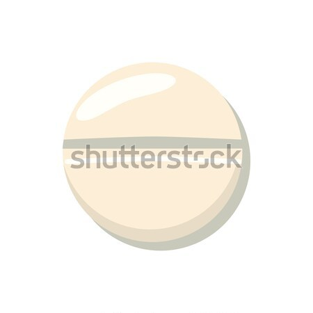 Pill icon, cartoon style Stock photo © ylivdesign