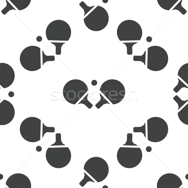 Table tennis pattern Stock photo © ylivdesign