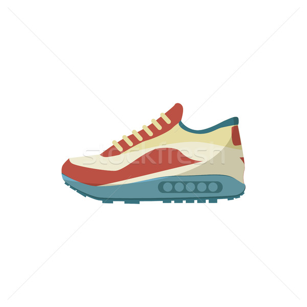 Sneakers icon, cartoon style Stock photo © ylivdesign
