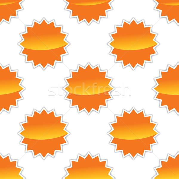 Vector sun pattern Stock photo © ylivdesign