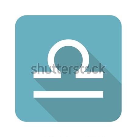 Gold Libra logo Stock photo © ylivdesign