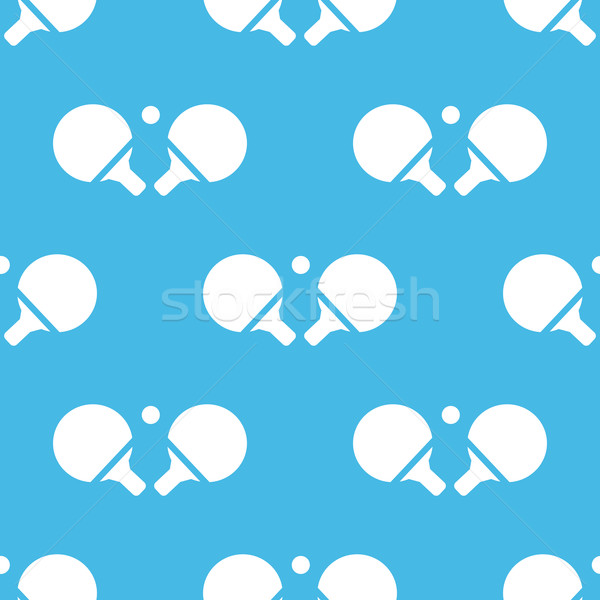 Blue ping-pong pattern Stock photo © ylivdesign