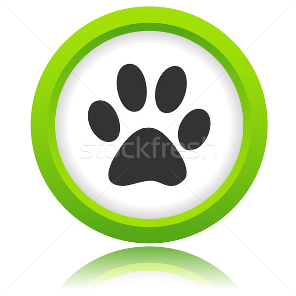 Paw of an animal icon Stock photo © ylivdesign