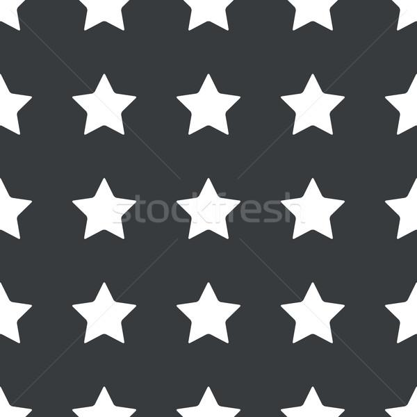 Egyenes fekete csillag minta fehér kép Stock fotó © ylivdesign