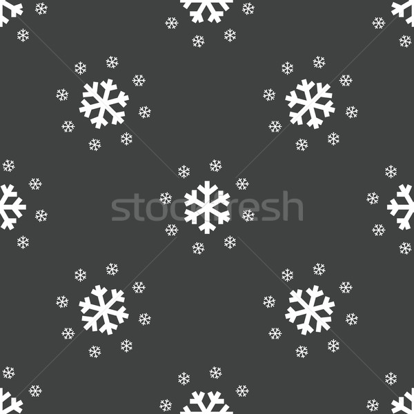 Snowflakes pattern Stock photo © ylivdesign
