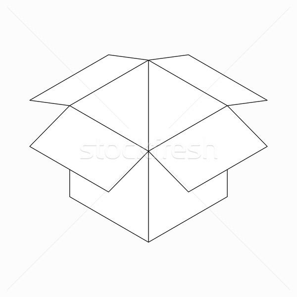 アイコン アイソメトリック 3D スタイル ストックフォト © ylivdesign