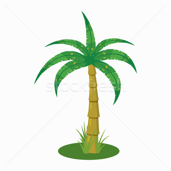 Palm Tree Icon Cartoon Style Vector Illustration C Ylivdesign 8071602 Stockfresh Here you can explore hq cartoon tree transparent illustrations, icons and clipart with filter setting like size, type, color etc. palm tree icon cartoon style vector