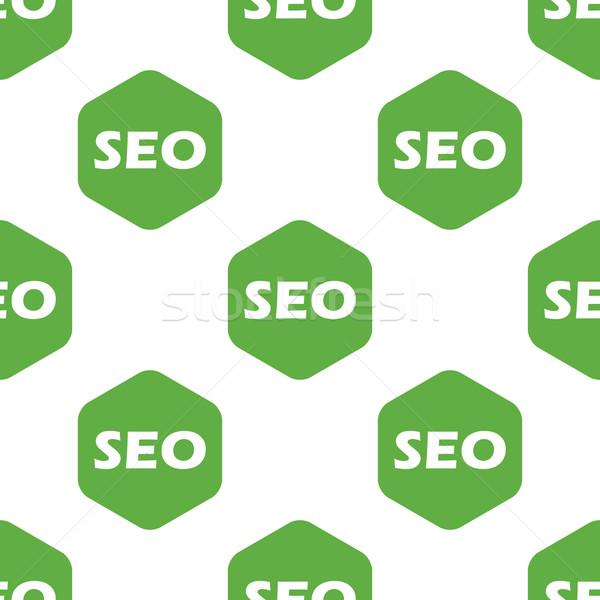 Seo minta szöveg internet zöld levél Stock fotó © ylivdesign