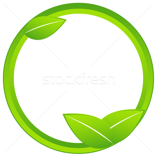 Ecology icon Stock photo © ylivdesign