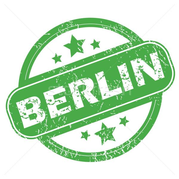 ベルリン 緑 スタンプ 名前 星 ストックフォト © ylivdesign