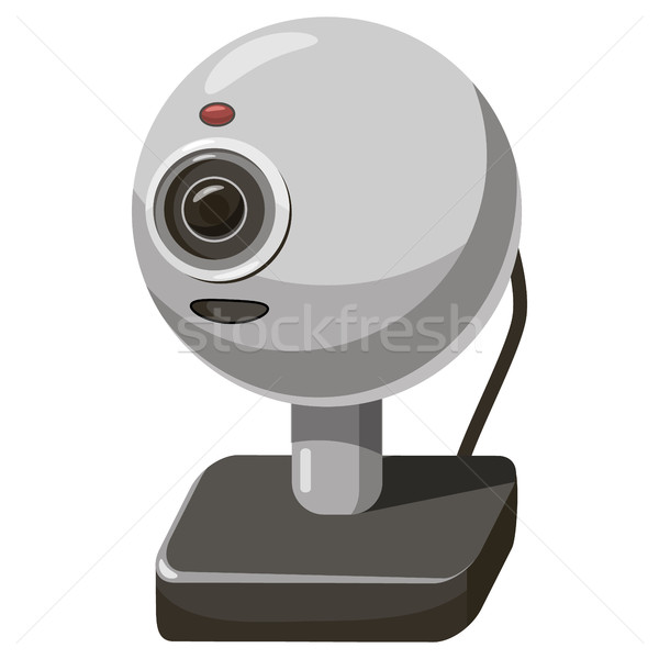 Webcam icon, cartoon style Stock photo © ylivdesign
