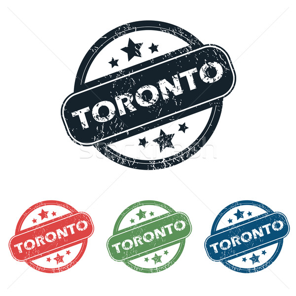 Toronto ciudad sello establecer cuatro sellos Foto stock © ylivdesign
