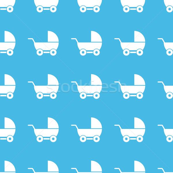Pram straight pattern Stock photo © ylivdesign