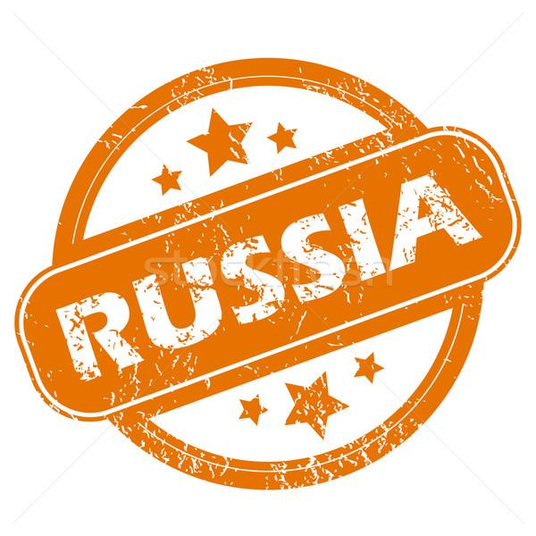 Russia grunge icon Stock photo © ylivdesign