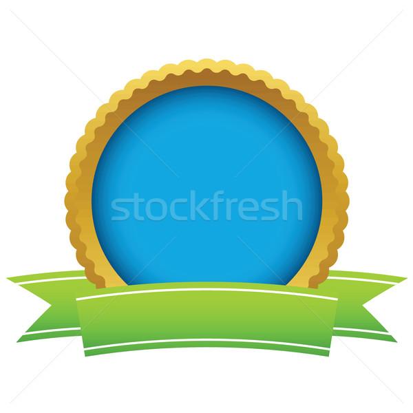 金 空っぽ ロゴ 白 デザイン ウェブ ストックフォト © ylivdesign