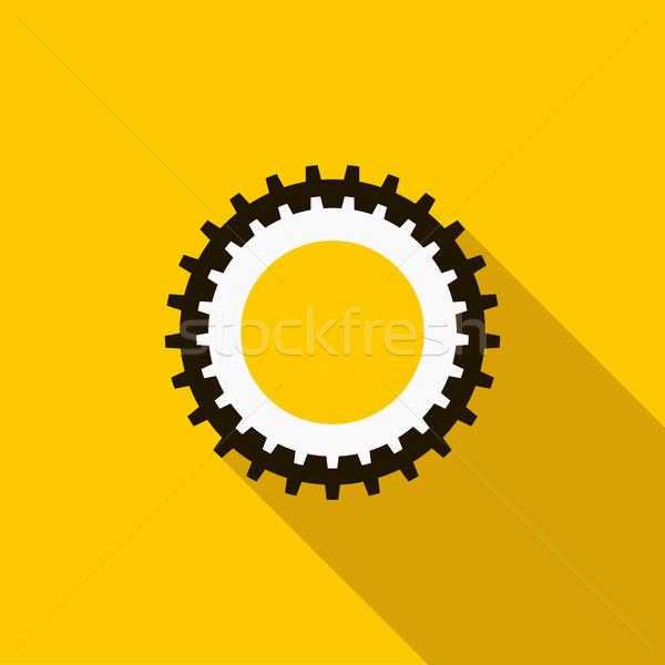 アイコン スタイル 黄色 作業 技術 ストックフォト © ylivdesign