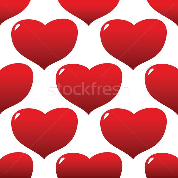 Heart pattern Stock photo © ylivdesign