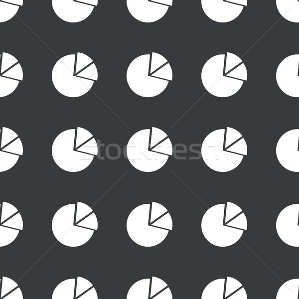 Em linha reta preto diagrama padrão branco imagem Foto stock © ylivdesign