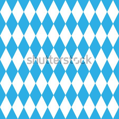 Oktoberfest blue pattern Stock photo © ylivdesign