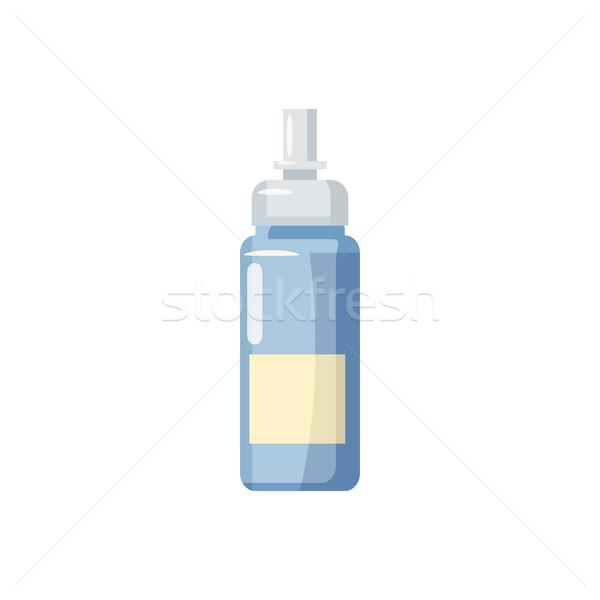 薬瓶 スプレー アイコン 漫画 スタイル 白 ストックフォト © ylivdesign