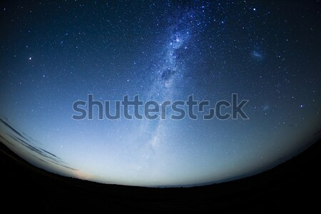 Night sky in the Southern hemisphere with milkway Stock photo © ymgerman