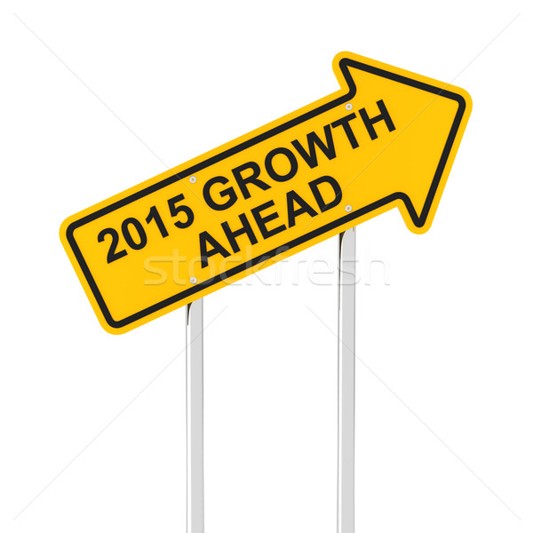 2015 growth ahead Stock photo © ymgerman