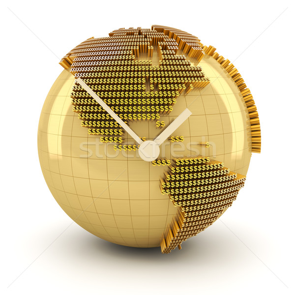 Time for global investment, 3d render Stock photo © ymgerman