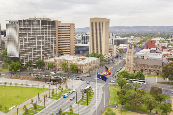View of Adelaide city in Australia in the daytime Stock photo © ymgerman