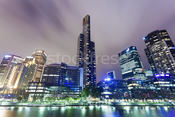 Skyscrapers in Southbank precinct of Melbourne, Australia Stock photo © ymgerman