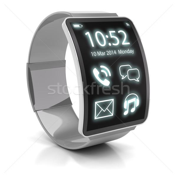 Smartwatch, 3d render Stock photo © ymgerman