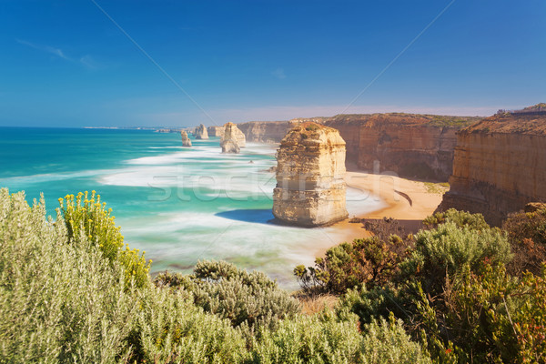 Doze Austrália longa exposição dia estrada natureza Foto stock © ymgerman