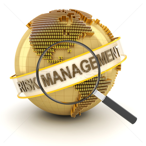 Financial risk management, 3d render Stock photo © ymgerman