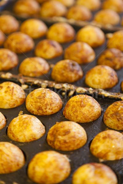 Octopus bal populair japans street food asian Stockfoto © ymgerman