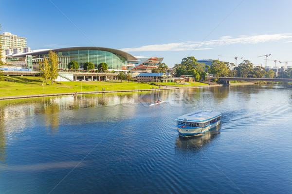 Adelaide stad Australië dag centrum water Stockfoto © ymgerman