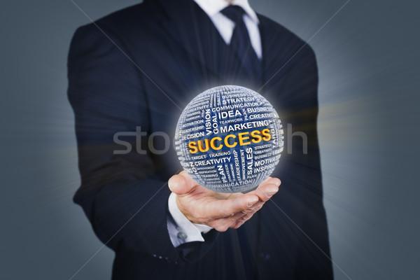 ビジネス 成功 ビジネスマン ボール 男 ストックフォト © ymgerman