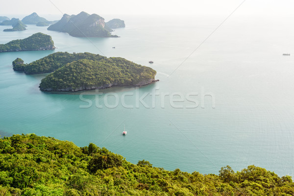 Thong mooie natuur landschap Stockfoto © Yongkiet