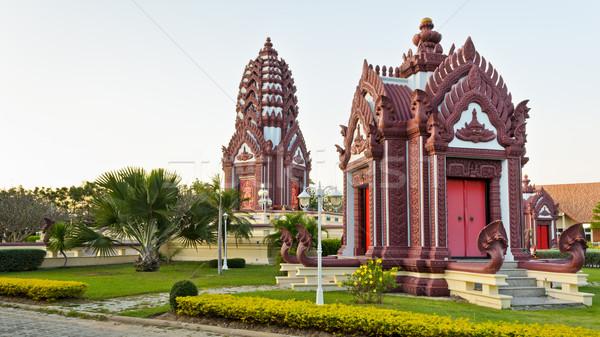 芸術 アーキテクチャ タイ 市 ストックフォト © Yongkiet
