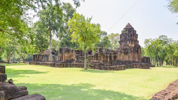 Prasat Mueang Sing Historical Park Stock photo © Yongkiet