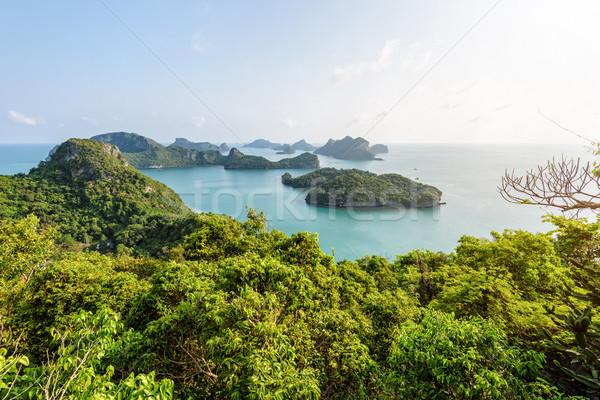 View thong bella natura panorama Foto d'archivio © Yongkiet