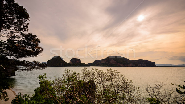 Bella mare in giro isola naturale panorama Foto d'archivio © Yongkiet