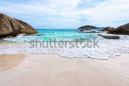 Stock photo: Beach in summer of Thailand